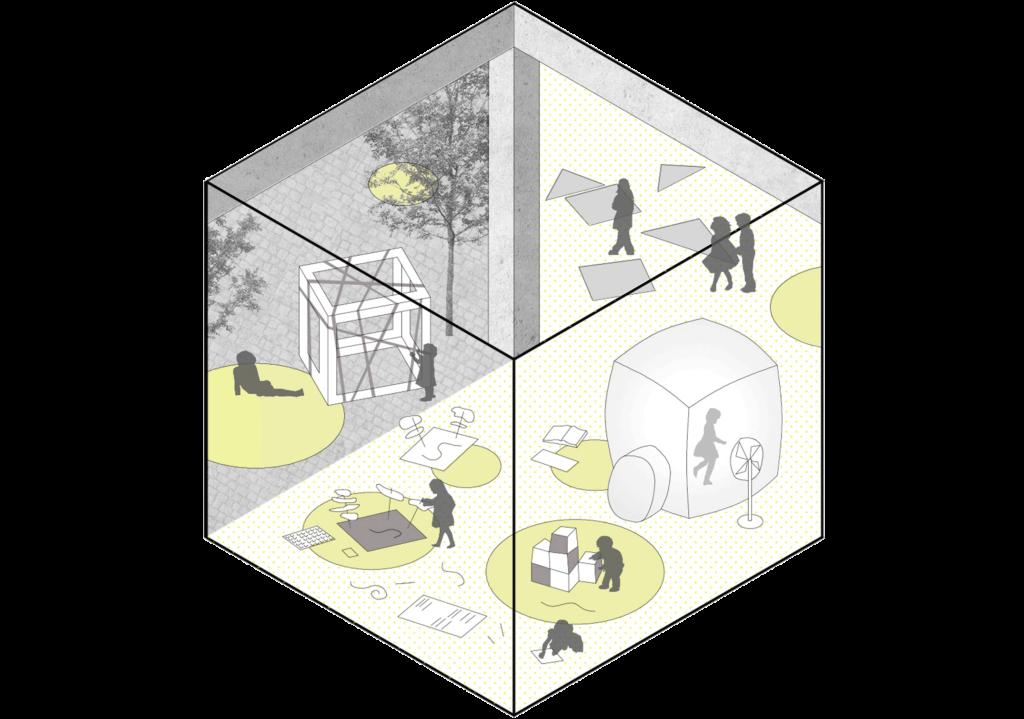 realizamos talleres y cursos de arquitectura para la infancia